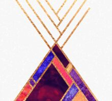 Tipi Mountain Sticker