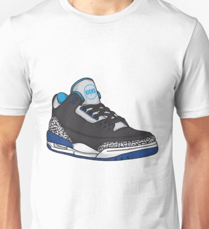 Shoes Blue Grey (Kicks) Unisex T-Shirt