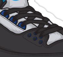 Shoes Blue Grey (Kicks) Sticker