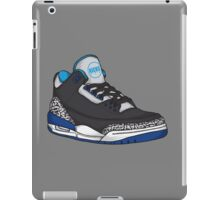 Shoes Blue Grey (Kicks) iPad Case/Skin