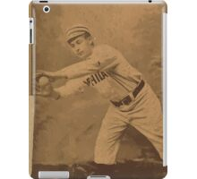 Benjamin K Edwards Collection Cupid Childs Philadelphia Quakers baseball card portrait iPad Case/Skin