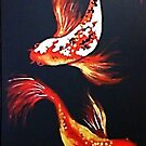 Dance of the Koi by Sally Ford