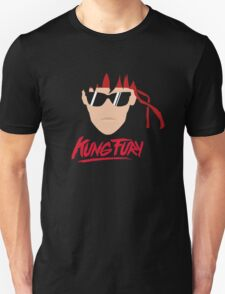 Kung Fury Minimalistic Design Unisex T-Shirt