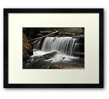 Waterfall V Framed Print