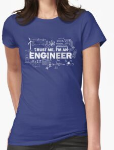 For All Engineers Womens Fitted T-Shirt