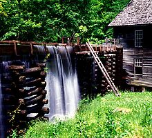 Mingus Mill overflow by ©  Paul W. Faust