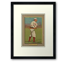 Benjamin K Edwards Collection Harry Lord Boston Red Sox Chicago White Sox baseball card portrait Framed Print