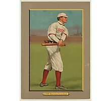 Benjamin K Edwards Collection Harry Lord Boston Red Sox Chicago White Sox baseball card portrait Photographic Print