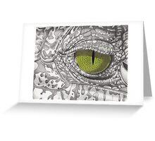 Croc Eye Greeting Card