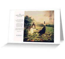 02 2012 Lady of Shalott Greeting Card