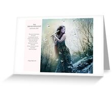 03 2012 Dryad Sunlight Greeting Card
