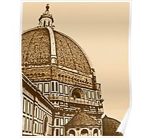 Il Duomo - Architectural Gem of Florence, Italy Poster