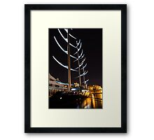 She is So Special - the Luxurious Maltese Falcon Superyacht Framed Print