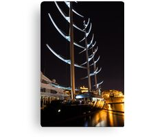 She is So Special - the Luxurious Maltese Falcon Superyacht Canvas Print