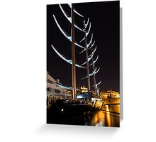 She is So Special - the Luxurious Maltese Falcon Superyacht Greeting Card