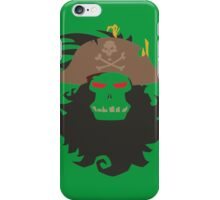 The Ghost Pirate LeChuck Minimalistic Design iPhone Case/Skin