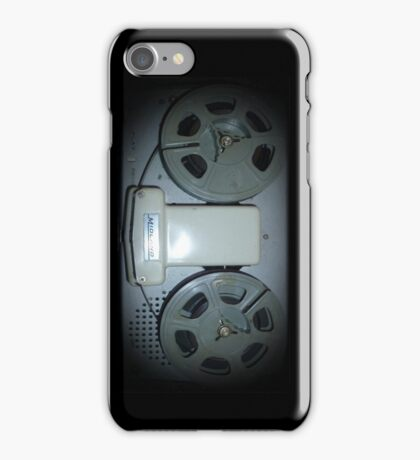 Reel2Reel phone case iPhone Case/Skin