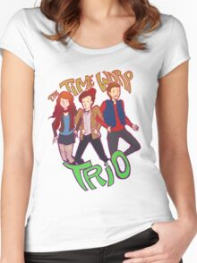 Time VWORP Trio Women's Fitted Scoop T-Shirt