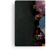 Street Markets of Chiang Mai Canvas Print
