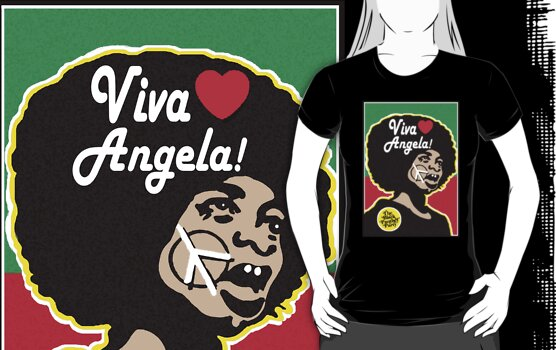 VIVA ANGELA DAVIS! by SOL  SKETCHES™