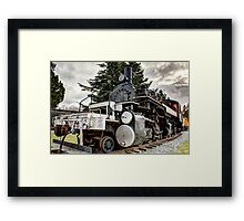 US Plywood #11 Mallet 2-6-6-2 Framed Print