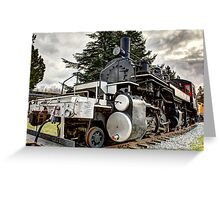 US Plywood #11 Mallet 2-6-6-2 Greeting Card