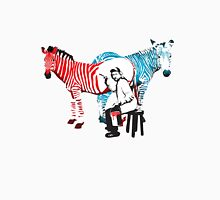 REMBRANDT ZEBRA PAINTING print Unisex T-Shirt