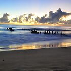 SS Dicky at sunrise by warren dacey