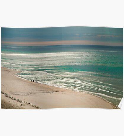 SUN DRENCHED GULF Poster