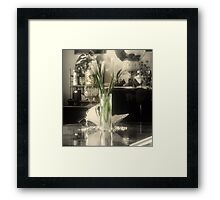 Vintage Memories~ Dedicated and Inspired by trueblvr Framed Print