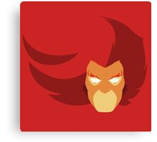 Lion-O Minimalistic Design Canvas Print