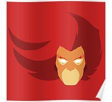 Lion-O Minimalistic Design Poster