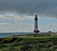 Pigeon Point, California Lighthouse by Scott Johnson