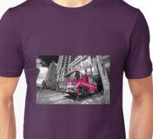 Pink Fire Truck  Unisex T-Shirt