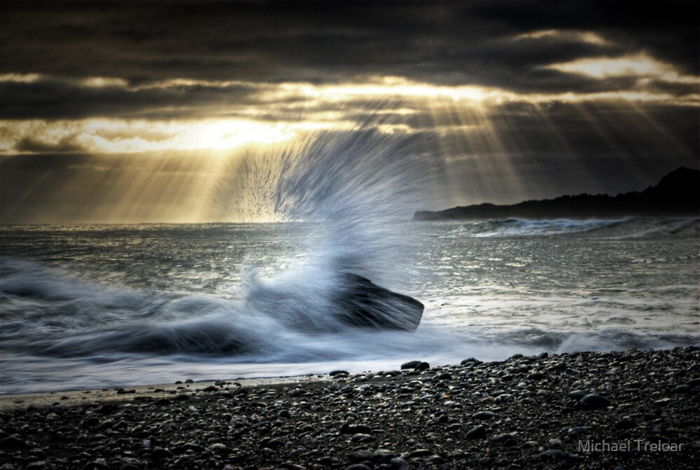 Salt Spray by Michael Treloar