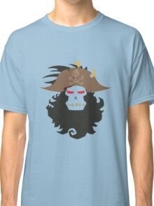 The Ghost Pirate LeChuck Minimalistic Design Classic T-Shirt