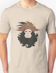 The Ghost Pirate LeChuck Minimalistic Design Unisex T-Shirt