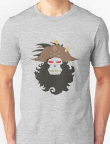 The Ghost Pirate LeChuck Minimalistic Design T-Shirt