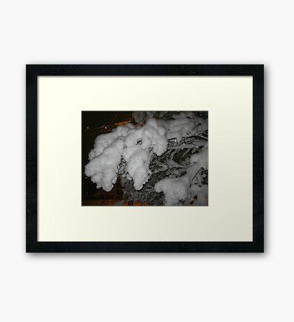 Feb. 19 2012 Snowstorm 38 Framed Print