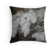 Feb. 19 2012 Snowstorm 38 Throw Pillow