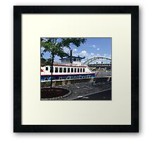 Pittsburgh Gateway Clipper Framed Print