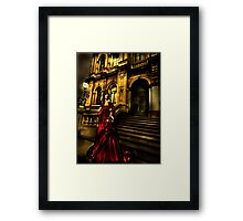 A Law onto my own Framed Print