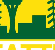 Seattle Sports Mashup Sticker