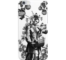 The Butterfly Drummer iPhone Case/Skin