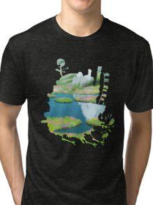 Howl's moving castle 2 Tri-blend T-Shirt