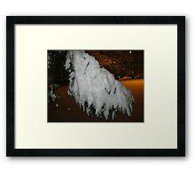 Feb. 19 2012 Snowstorm 45 Framed Print