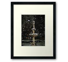 Feb. 19 2012 Snowstorm 54 Framed Print