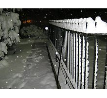 Feb. 19 2012 Snowstorm 56 Photographic Print
