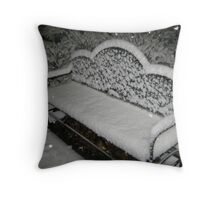 Feb. 19 2012 Snowstorm 57 Throw Pillow