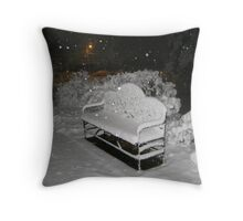 Feb. 19 2012 Snowstorm 58 Throw Pillow